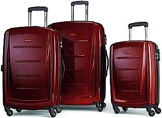 Samsonite Winfield 2 Hardside Luggage with Spinner Wheels, Burgundy, 3-Piece Set (20/24/28)