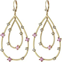 Gold/Light Pink/White CZ