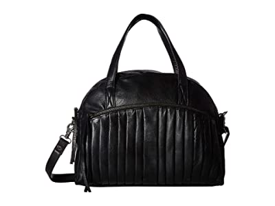 Day & Mood Petra Satchel (Black) Satchel Handbags
