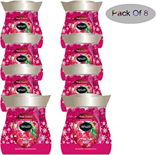 Renuzit Holly Berry Pearl Scents Air Freshener Limited Edition (Pack of 8)