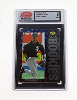 1994 Upper Deck Michael Jordan #19 Rookie White Sox SCDA 9 - Baseball Cards