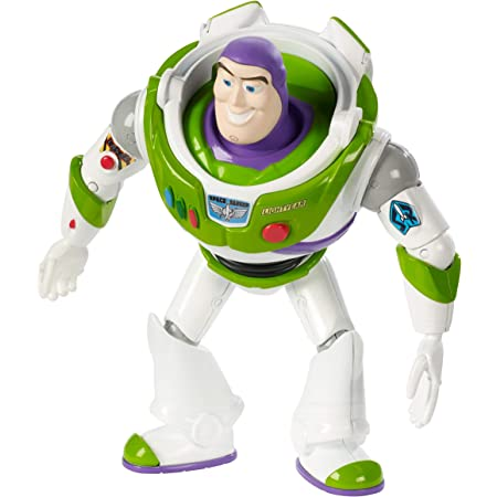 Disney Toy Story 4 Figura Buzz Lightyear, juguetes niños + 3 años (Mattel GGX33)