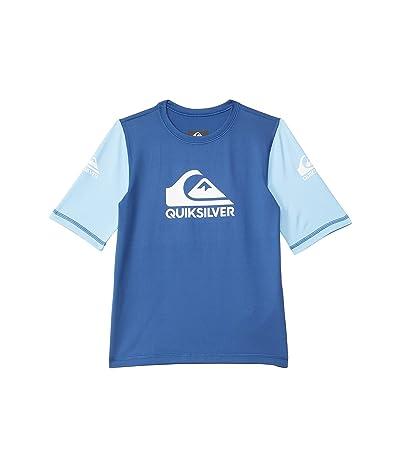 Quiksilver Kids Heats On Short Sleeve Rashguard (Toddler/Little Kids) Boy