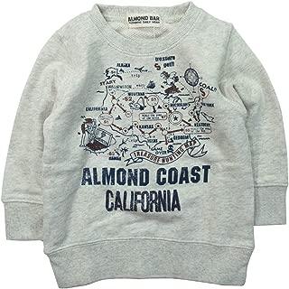 《秋冬春对应》 ALMOND BAR(杏仁鸟)毛圈布 运动衫 印刷运动衫 NO.AH-83402 [対象] 48ヶ月 ~ Om 100