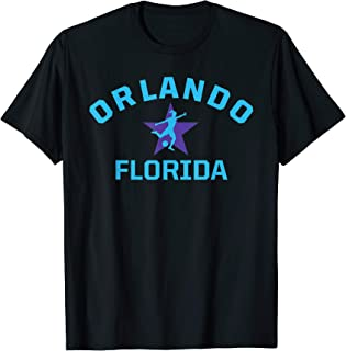 American Soccer Jersey Womens Orlando Gift Pride Florida Top T-Shirt