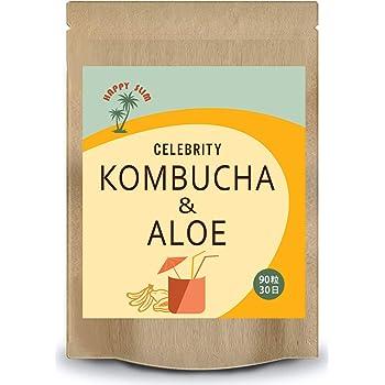 ダイエットサプリ アロエ コンブチャ 酵素 サラシア イヌリン 紅茶キノコ KOMBUCHA HAPPY SLIM 30日分 90粒