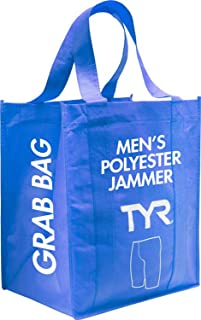 TYR SPJAM7A97026 Mens Grab Bag Polyester Jammer Swimsuits Assorted 26