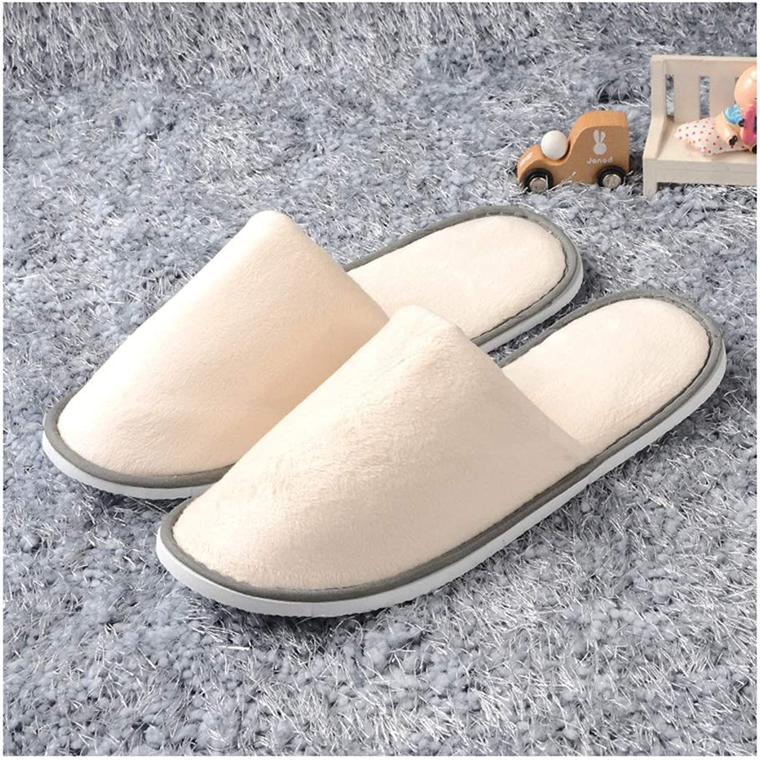 Disposable Slippers,spa Slippers Unisex Disposable Men's Slippers Men's Slippers Spa Slippers 20 Pairs Men's Hotel Foot Massage Slippers Women Non-Thickening Home Hospitality Guests