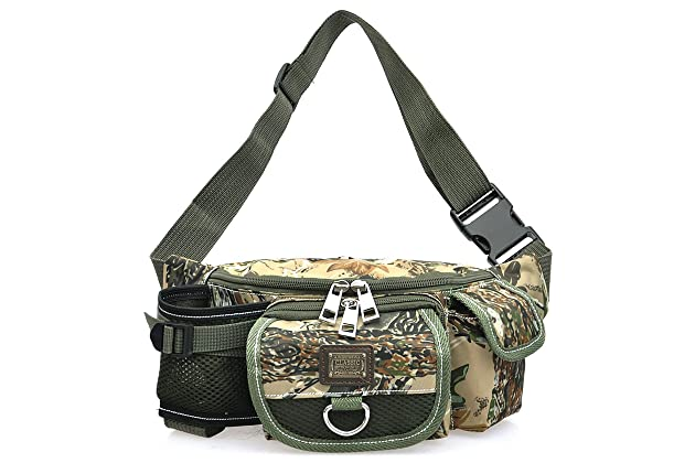 35e8ea1837 Piscifun Fishing Bag Portable Outdoor Fishing Tackle Bags Multiple Waist Bag  Fanny Pack