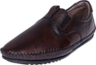 Zoom Men Pure Leather Casual Shoes/Slip-ons K-45