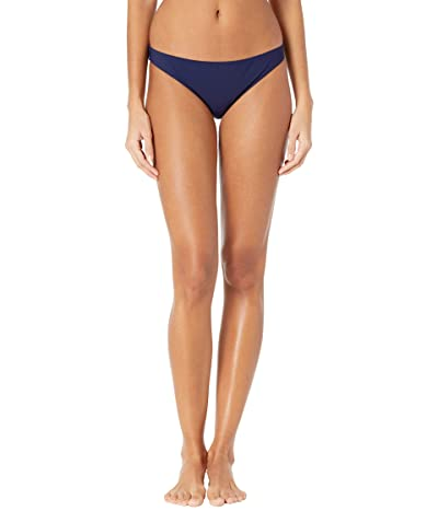 Tory Burch Swimwear Solid Hipster Bikini Bottoms (Tory Navy) Women