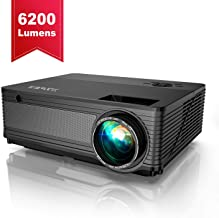 YABER Native 1080P Projector 6200 Lux Upgrad Full HD Video Projector (1920 x 1080)..