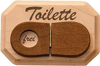 Spreukenband PREMIUM KWALITEIT 100% EMOTIONEEL · WC-bord van hout · Toiletbord met WC-deksel om te klappen · Deurplaat WC...