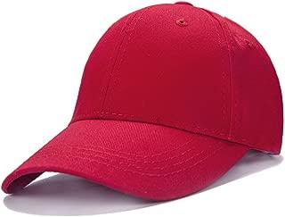Unisex Toddler Kids Plain Cotton Adjustable Low Profile Baseball Cap Hat(A1009)