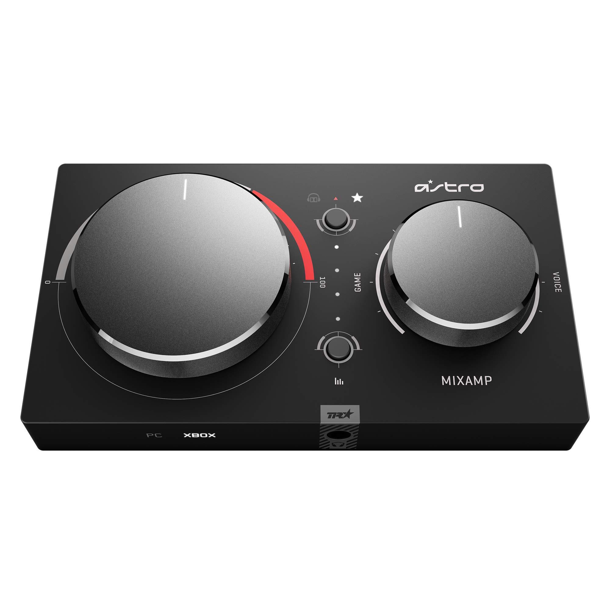Astro Gaming - MixAmp Pro TR, Gen 4, Sonido Dolby Digital Surround, Salida de Stream Personalizable, Listo para Astro Command Center Software, PC/Mac/Xbox One, Negro/Rojo: Amazon.es: Electrónica