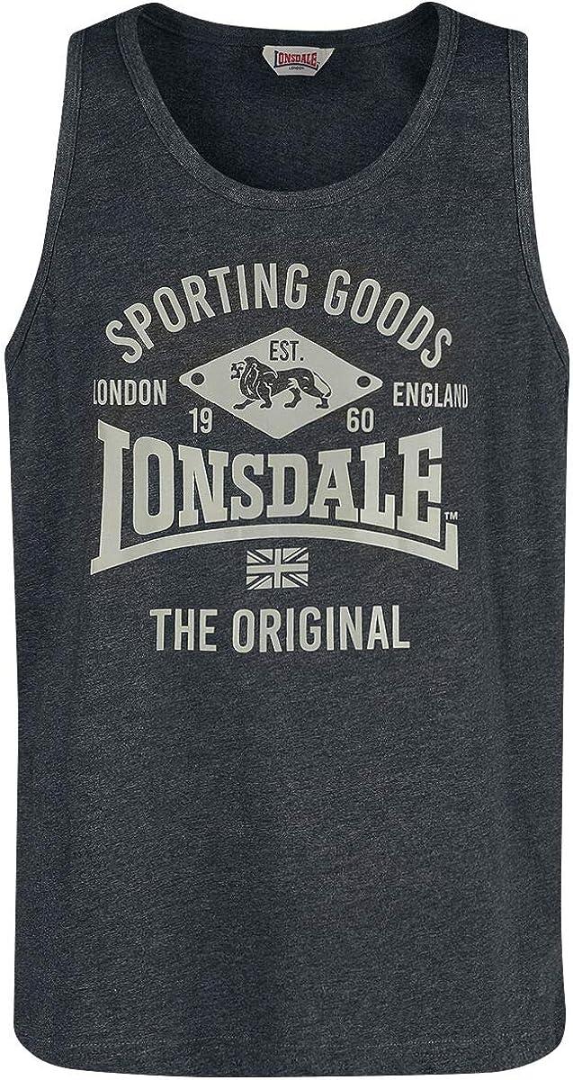 Lonsdale Ranking TOP3 Men Tank Cheap sale Pilton Top