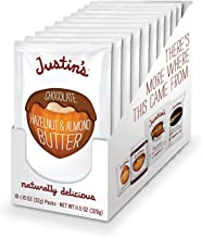 Chocolate Hazelnut & Almond Butter by Justin's | 60 Squeeze Packs | Organic Ingredients, Non-GMO, Gluten-Free, Responsibly...