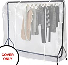 Oypla Heavy Duty 6ft Clothes Tidy Rail Cover