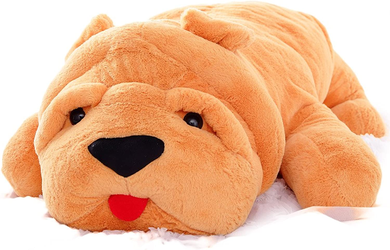 VERCART Plüsch Kind Tier Lernspaß Freund, Lernspielzeug Hellbraun 140cm Hund B074DTPJXH Flagship-Store     | Konzentrieren Sie sich auf das Babyleben