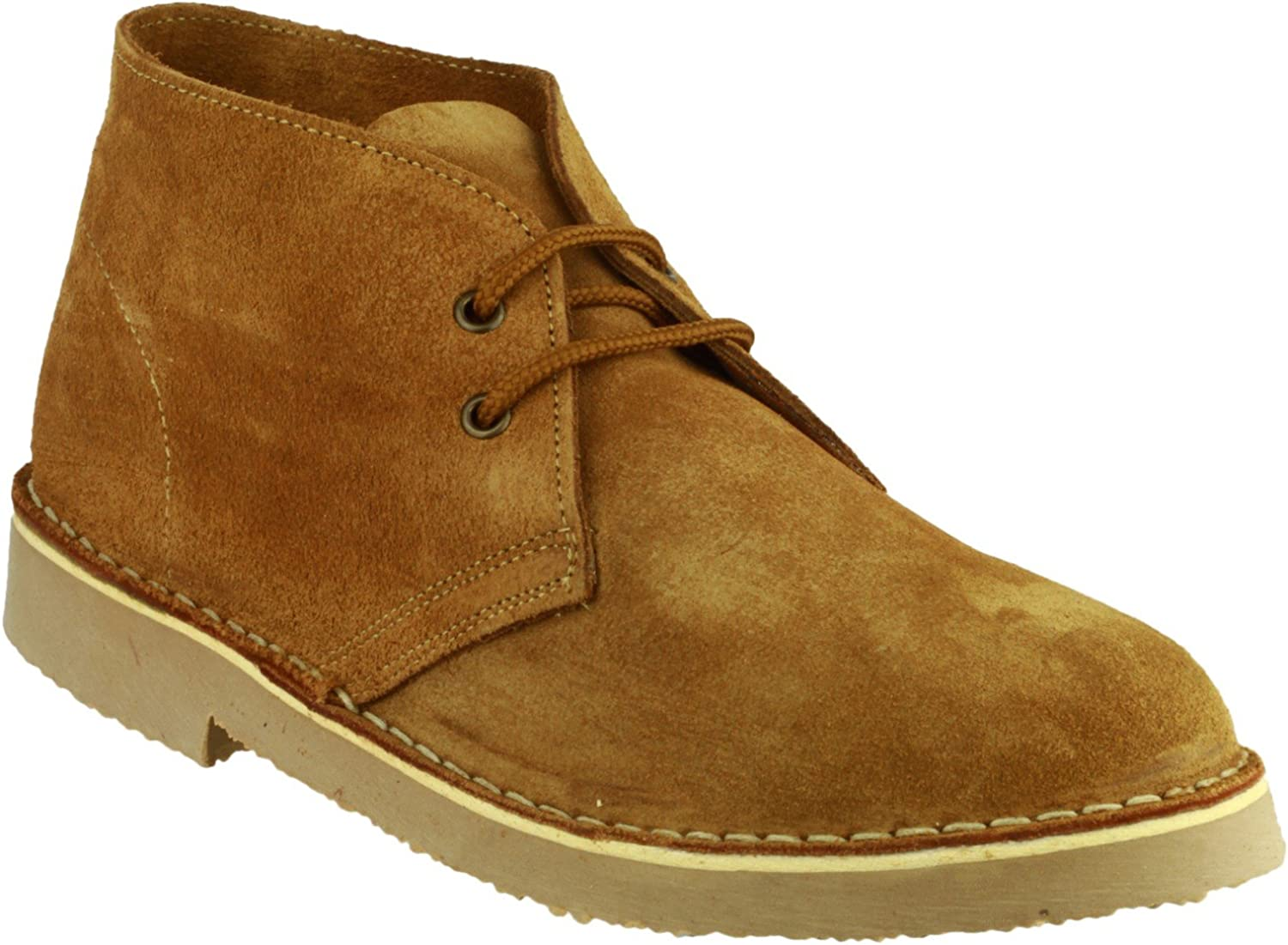 Cotswold Mens Sahara Suede Leather Casual Supported Heel Desert Stiefel