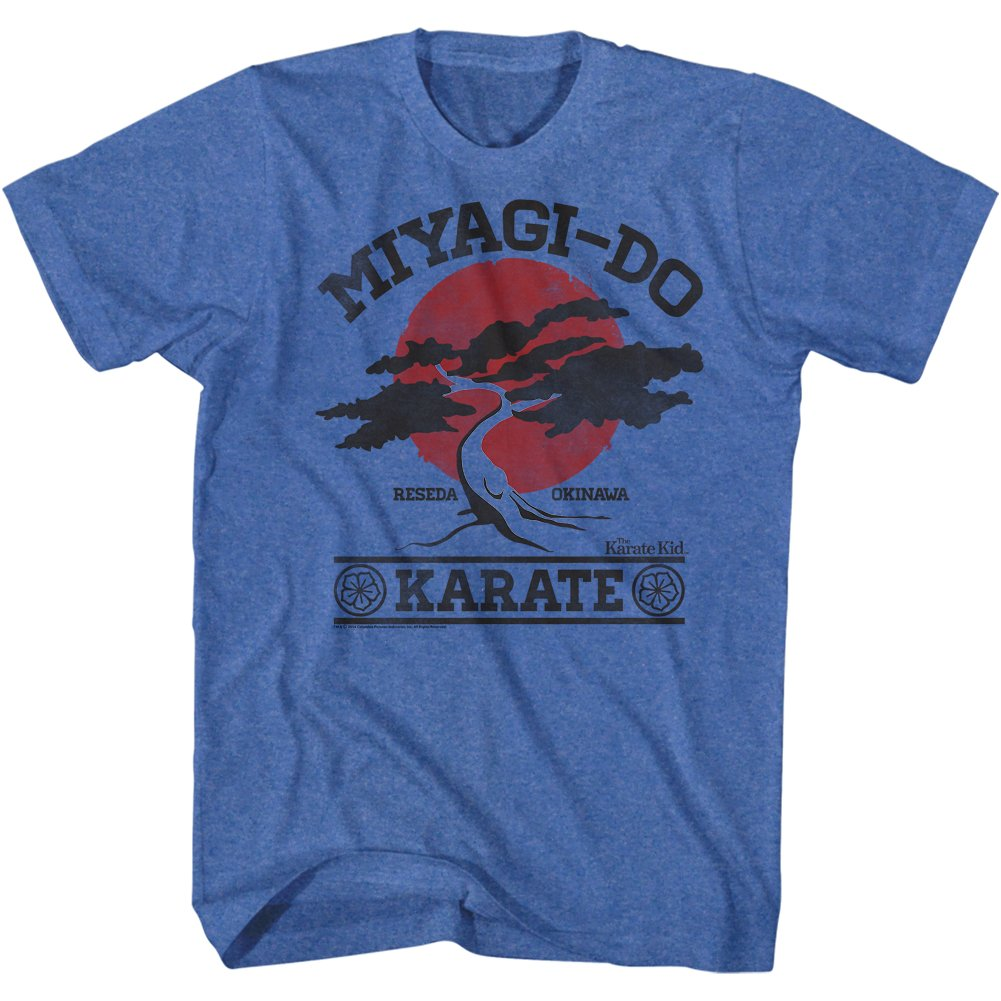 Karate Kid 1980's Martial Arts Movie Miyagi Do It Again Vintage Adult T-Shirt Tee