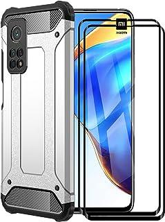 FANFO® Funda para Xiaomi Mi 10T Pro 5G/Mi 10T 5G, protección contra Golpes de TPU + PC Resistente a arañazos (Doble Capa) ...
