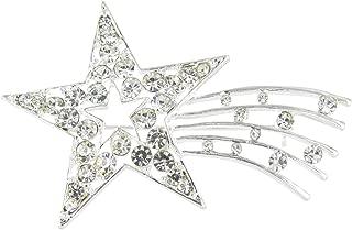 shooting star brooch
