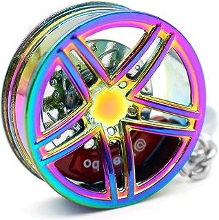 VmG-Store - Portachiavi in metallo a forma di cerchione, design 109