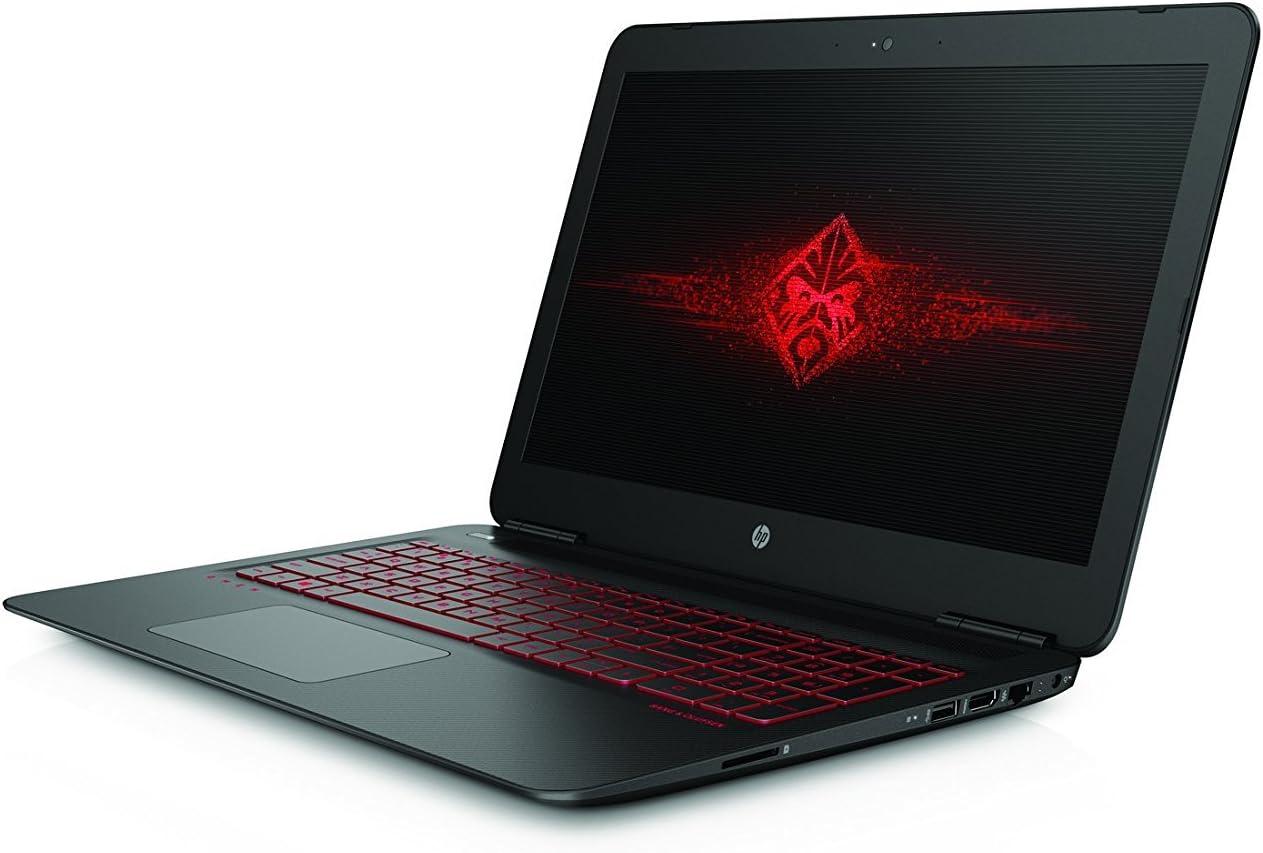 "2017 HP Omen 15.6"" Full-HD IPS Flagship High Performance Gaming Laptop PC, Intel Core i7-770HQ Quad-Core Processor, NVIDIA GTX 1050Ti 4GB DDR5, 12GB RAM, 1TB HDD, Backlit Keyboard, Windows 10"