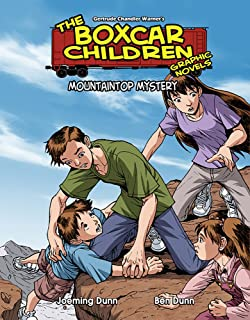 Mountain Top Mystery (15) (The Boxcar Children Graphic Novels)