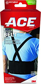 ACE Brand Work Belt, Stabilizing, Breathable, Contoured Fit, from America's Most Trusted Brand of Braces, Supports and Elastic Bandages