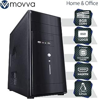 COMPUTADOR CARBON INTEL I5 8400 2.8GHZ 8ª GER. MEM. 8GB SSD 120GB HDMI/VGA FONTE 350W - LINUX - MVCBI5H310S1208 - MOVVA