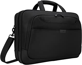 Targus Blacktop Deluxe Checkpoint-Friendly for 17-Inch Laptop Briefcase with DOME Protection, Black (TBT275)