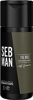 Sebastian SEBMAN The Boss: Champú Espesante y Engrosador Hombre con Efecto Refrescante - 50ml