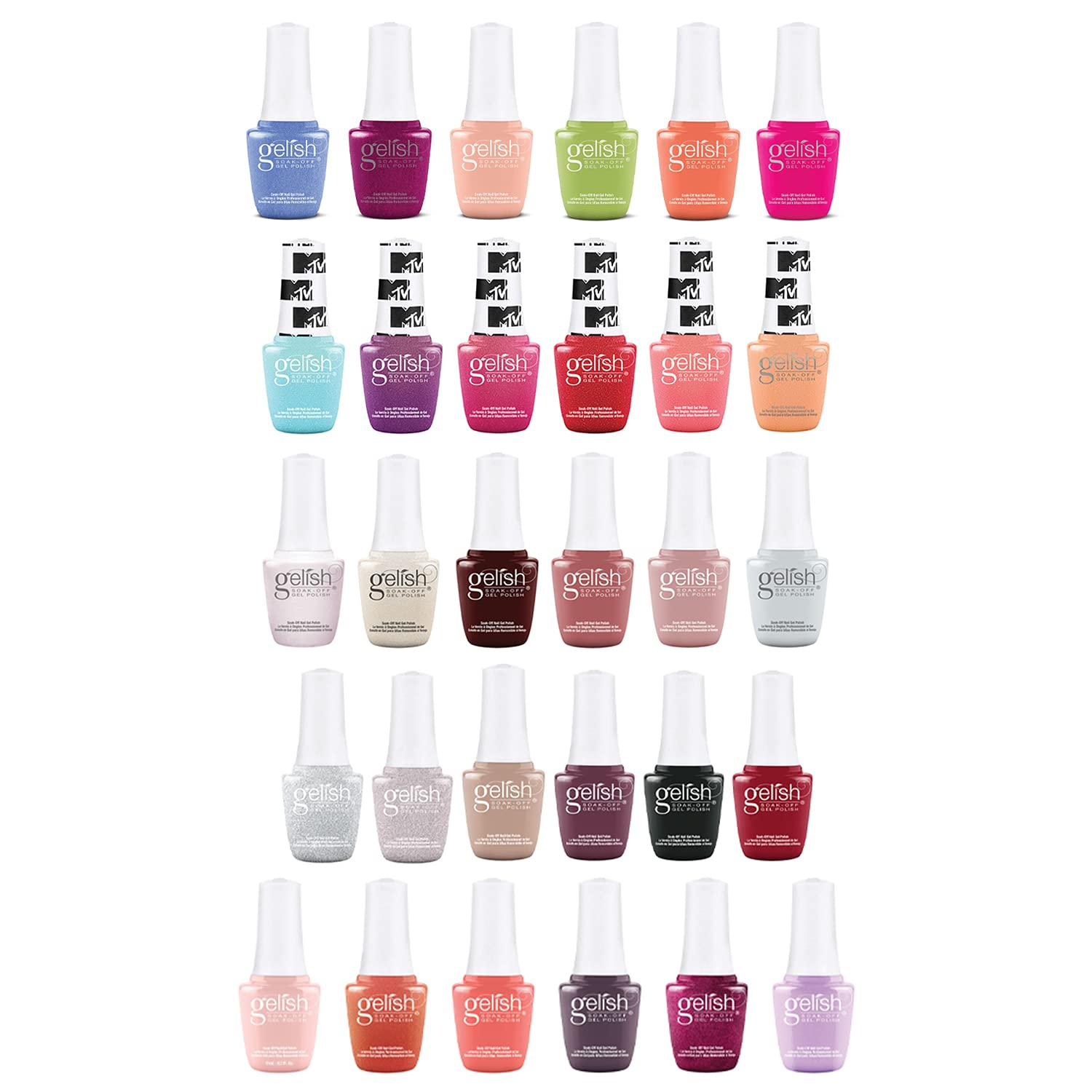 Gelish 9mL Feel the Boston Mall Easy-to-use Vibes MTV Out Ma Shake Open in Up