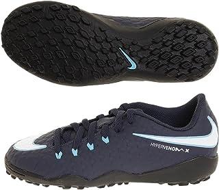 Nike Youth Hypervenomx Phelon III Turf Shoes [Obsidian] (1Y)