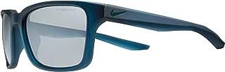 Nike Unisex Square Blue Plastic Sunglasses - NKESSENTIALSPREE 440 57-18-145mm