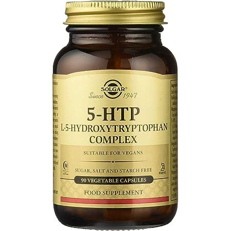 Solgar   L-5-Hidroxitriptófanos (5-HTP)   Mejora del Equilibrio Emocional y Reducción de la Fatiga   Complemento Alimenticio   90 Cápsulas Vegetales