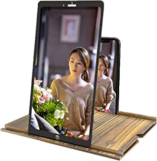 12 Inch Phone Screen Magnifier, 3d Phone Screen Amplifier Ultra HD Horizontal And Vertical Screen, Mobile Phone Magnifier ...