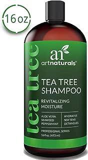 ArtNaturals Tea Tree Shampoo - (16 Fl Oz / 473ml) - Sulfate Free – Made with 100% Pure Therapeutic Grade Tea Tree Essential Oil.