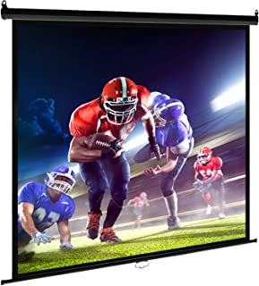 Best Office Pull Down Projector Screen 120 inch MS-119 Black 1:1