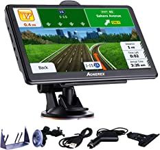 GPS Navigation for Car/Truck, 7 Inch Touch Screen Vehicle GPS, Free Lifetime Maps of North America USA Canada Mexico, Lane Assistance, Spoken Turn-by-Turn Directions Aonerex Navigation System