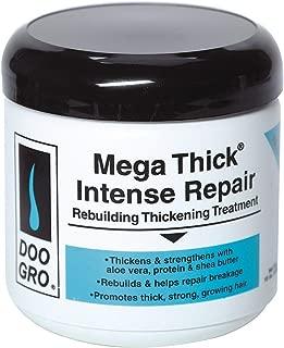 DOO GRO Mega Thick Rebuilding Thickening Treatment, Intense Repair, 16 oz (Pack of 2)