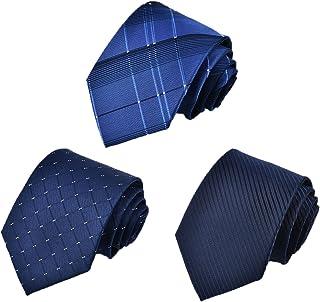 [Tarudol.R] ネクタイ 3本セット メンズ おしゃれ ビジネス 洗える ネクタイ セット 人気 チェック柄 小紋 格子 ストライプ ドット 結婚式 就活 プレゼント父の日