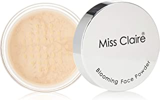 Miss Claire Miss Calire Blooming Face Powder Translucent Tl11, Beige, 7 Grams, Red, 7 g