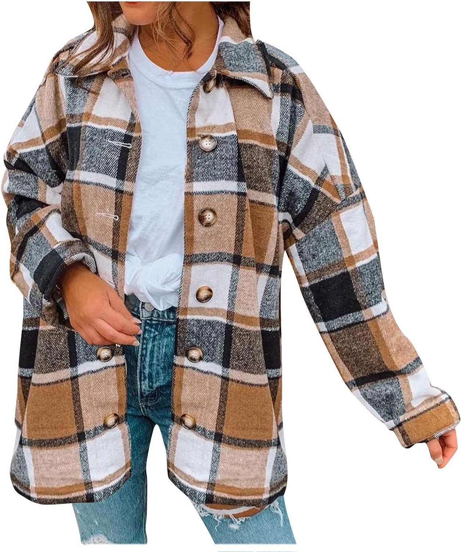 CHEVIK Women Jacket Fashion Lattice Casual Lapel Fashionable Lo Button New mail order