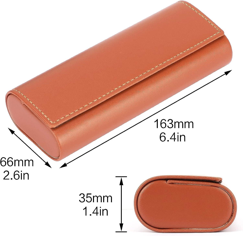 Vemiss Hard Shell Eyeglasses Case Lightweight Portable Case for Women,Men