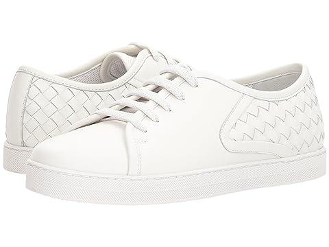 Bottega Veneta Intrecciato Lace-Up Sneaker