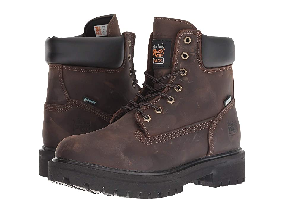 Timberland PRO Direct Attach 6 Steel Toe (Brown Oiled Full-Grain Leather) Men