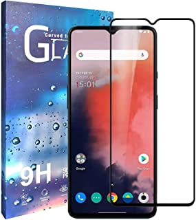 for Oneplus 7T Screen Protector HD Clear [9H Hardness] [Case Friendly] [Scratch Resistance] Tempered Glass Screen Protecti...